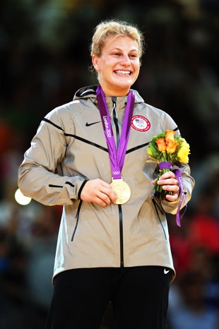 Kayla Harrison wins first U.S. Olympic judo gold medal after proving toughness long ago. An amazing champion and woman. (Getty Images)