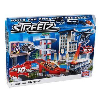 Mega Bloks Streetz Şehir Kovalamacası Seti