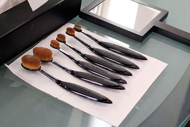 MAC Masterclass Brushes - Expert advices