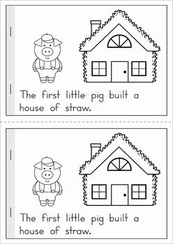 The Three Little Pigs emergent reader                                                                                                                                                                                 More