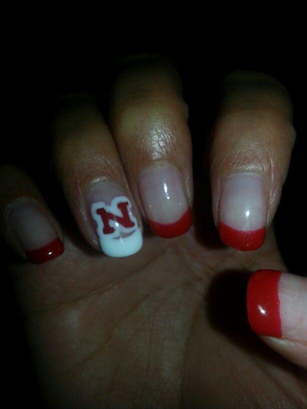 12 best Huskers Nails images on Pinterest | Nebraska cornhuskers ...