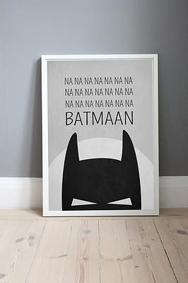 Batman Poster - Oh Living