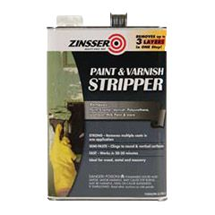 Enjoy quick, simple removal of paint and clear finishes—plus extra-easy clean-up—with Rust-Oleum® Zinsser® Paint & Varnish Stripper. This hard-working formula removes up to three layers of paint in just one application.
