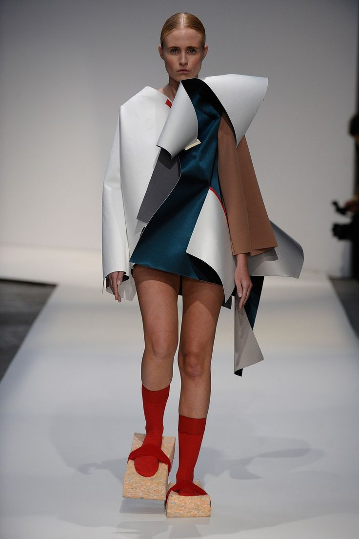 London College of Fashion BA fashion show 2015. Click to see full gallery