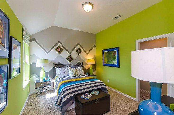 Pareti a Righe per Camerette 36 Coloratissime Idee