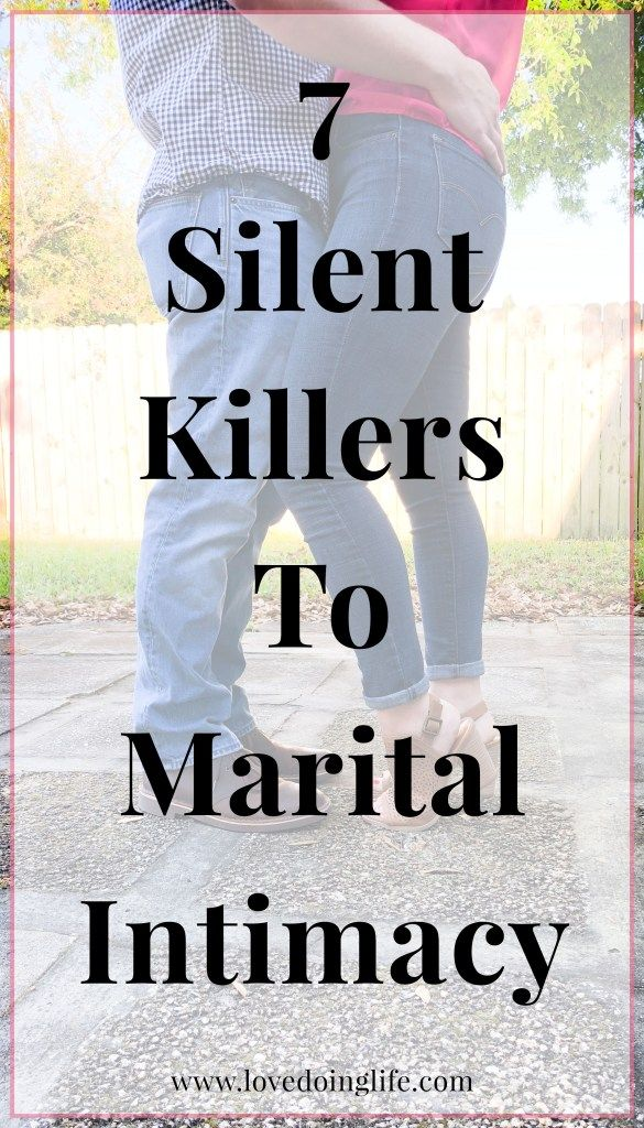 7 Silent Killers To Marital Intimacy   Marriage