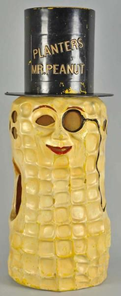 Absolutely wonderful Planter's Mr Peanut costume wit Hat, 1930's