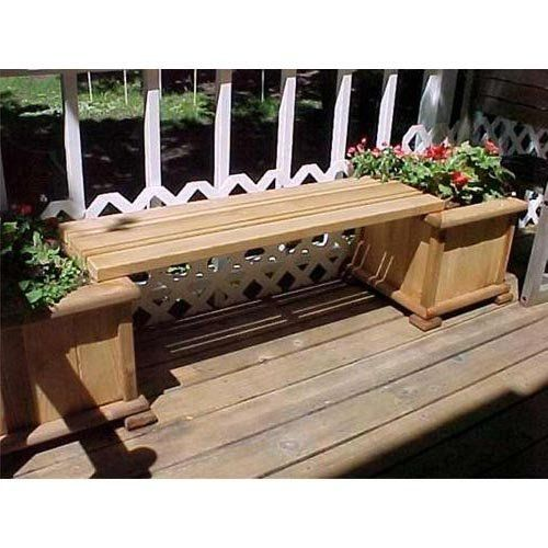 Large Corner L Shaped Wooden Garden Planter Box Trough: 1000+ Ideas About Planter Bench On Pinterest