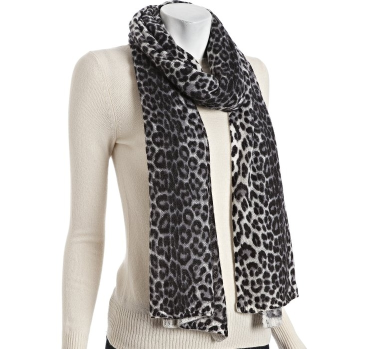 Snow leopard print!its starting to get cold outside!