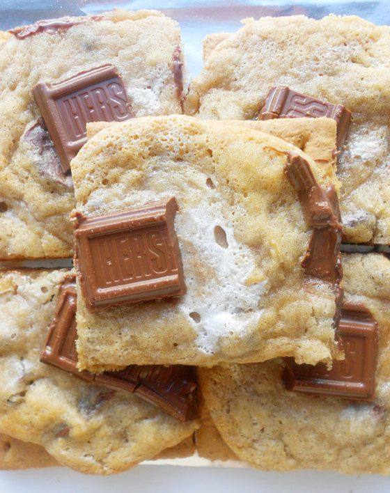 S'mores cookies - OMG Chocolate Desserts