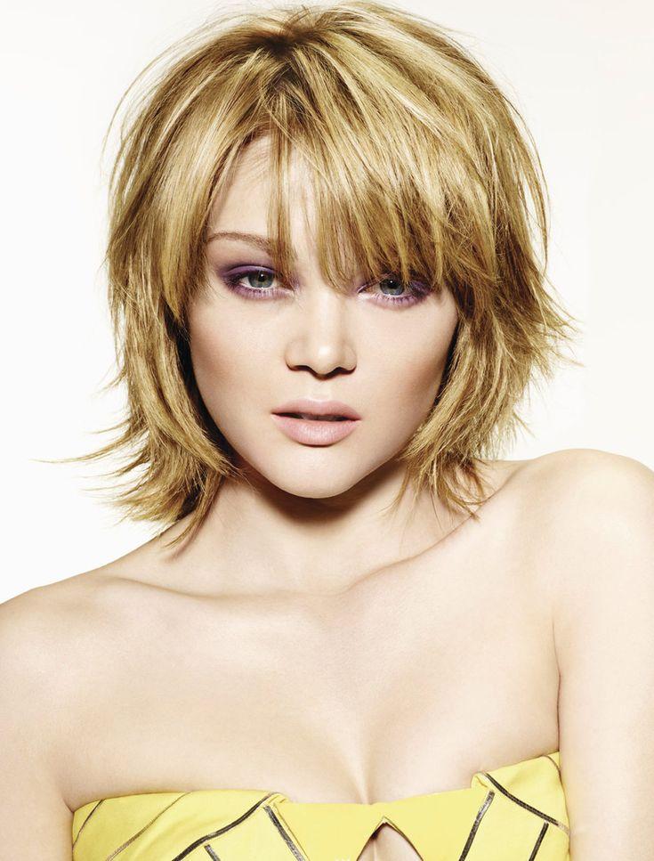 Coupe dégradé éffilé mi-longue #coiffure #cheveux