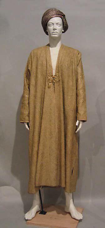 wool Indian (Kashmiri) coat (Choga) c late 19th century