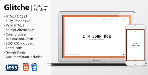 VERSUS Resume - Responsive CV Template + Bonuses  VERSUS has - cv versus resume