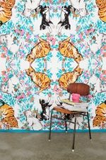 Cat Kaleidoscope Tapestry Throw at Urban Outfitters