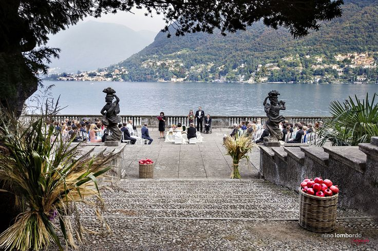 Italian Luxury Wedding Destination, Villa Pizzo-Cernobbio on Como Lake • Unforgettable Place for your Wedding Shoots