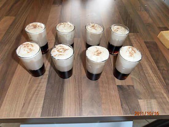 recette capuccino de mascarpone café miel et cannelle