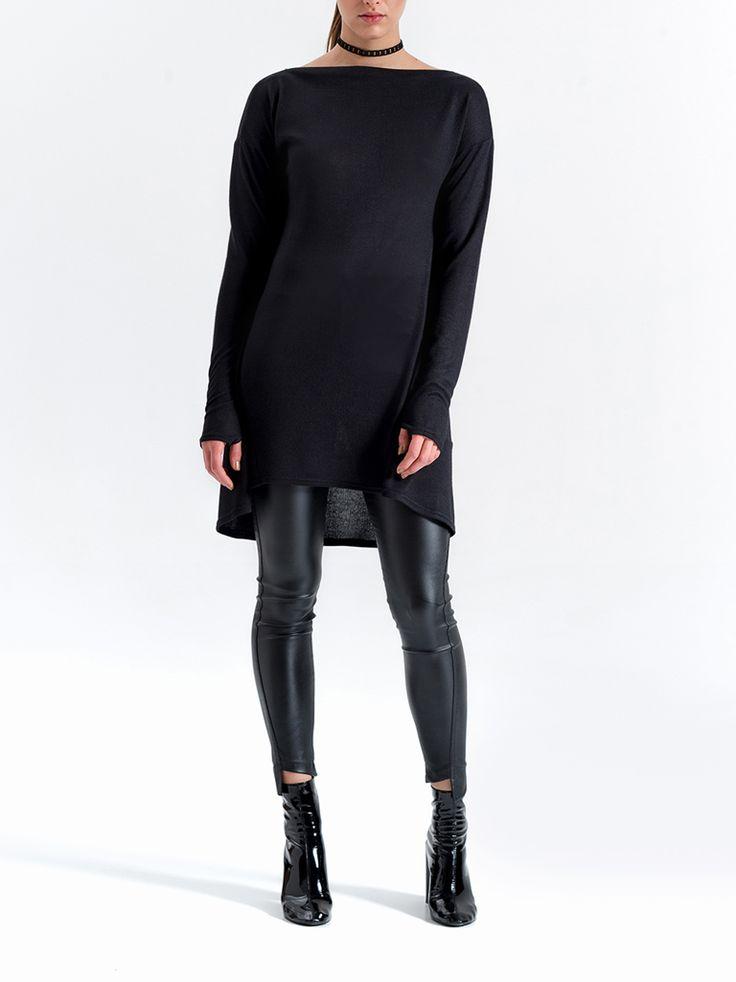 Tunika | KOLEKCJA | -SPEKTROOMKombinezon | KOLEKCJA | -SPEKTROOM #lookbook #fashion #jumpsuit #dress #fashion #style #minimal #eshop #sklepinternetowy #moda #damska #online #trends #trendy #2016 #2017 #evening #model #wgsn #elle