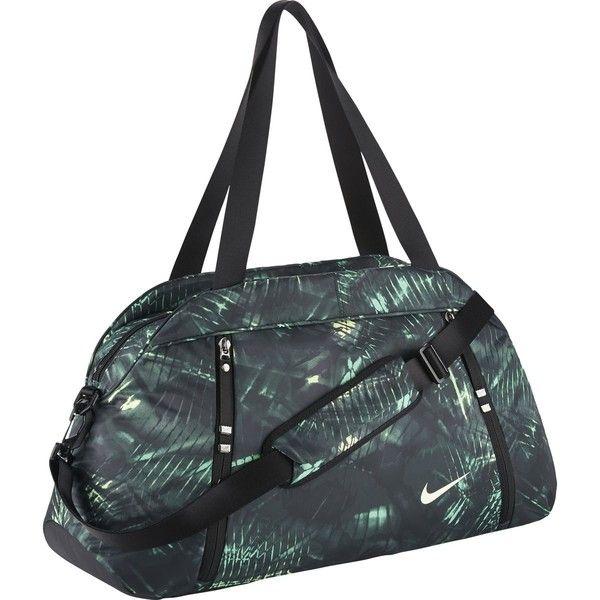 Nike Auralux Print Club Bag ($52) ❤ liked on Polyvore featuring bags, handbags, nike, nike purse, pattern bag, print handbags and nike handbags