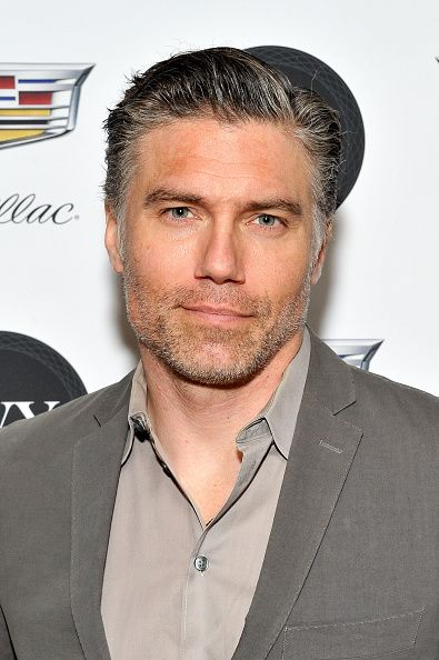 Anson Mount attends the IVY Innovator New York Dinner presented by Cadillac on December 8 2015 in New York City