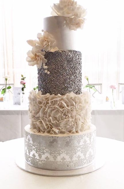 Wedding cake idea; Featured Cake: Cakes 2 Cupcakes                                                                                                                                                     More