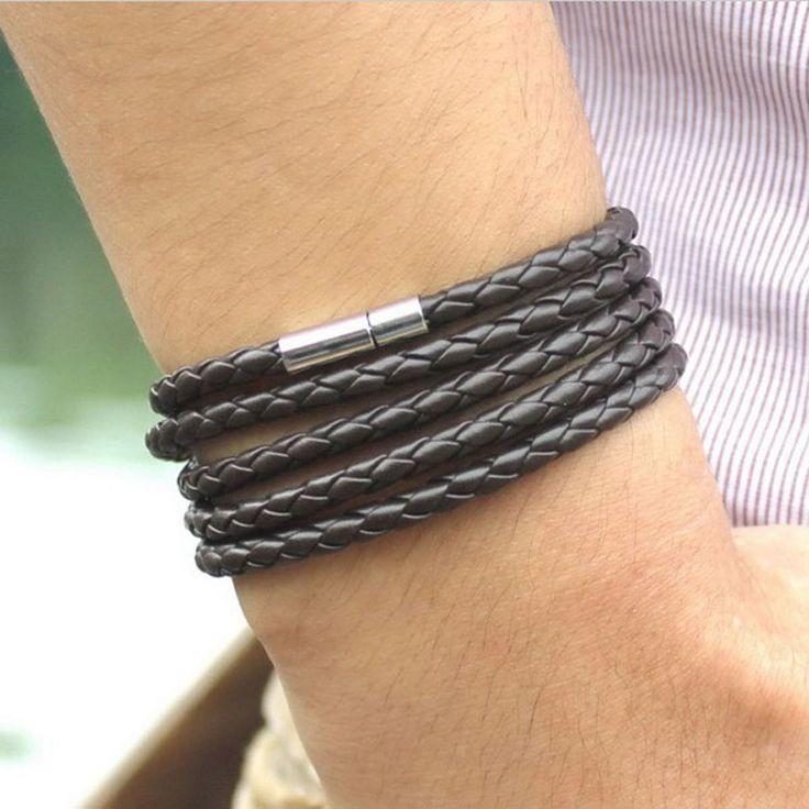 定制黑色皮革手镯个性刻字母手环可调节尺寸男女通用毕业纪念礼品-淘宝网