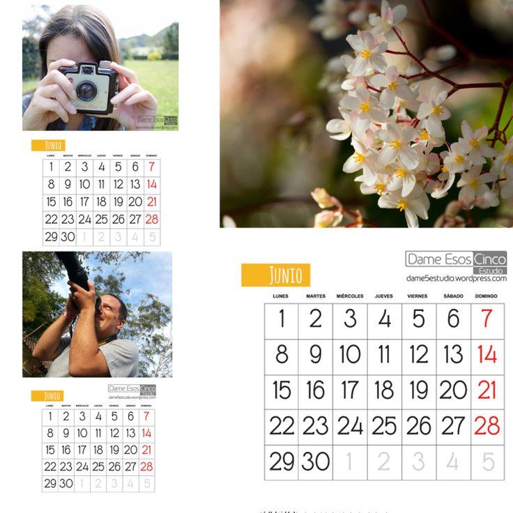 Calendarios gratis descargables.