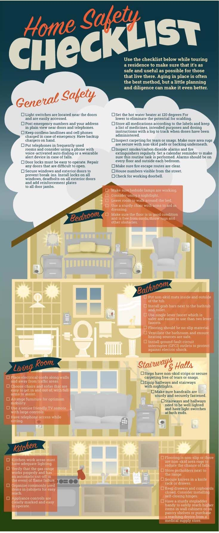 Download The Home Safety Checklist Home safety checklist