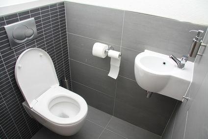 маленький туалет навесная сантехника