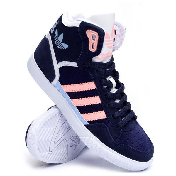 extaball w sneakers by Adidas found on Polyvore featuring shoes, sneakers, adidas trainers, adidas sneakers, adidas, adidas shoes and adidas footwear