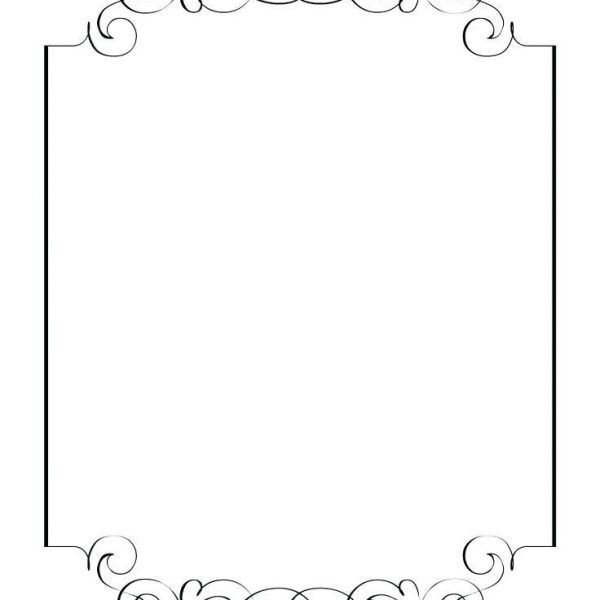 Blank French Menu Template Resume Corner Within Blank French