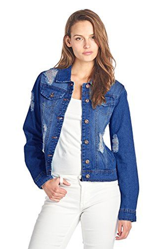 "Measurements   	 		 			 				 					Famous Words of Inspiration...""Let the river roll which way it will, cities will rise on its banks.""					 				 				 					Ralph Waldo Emerson 						— Click here for more from Ralph Waldo...  More details at https://jackets-lovers.bestselleroutlets.com/ladies-coats-jackets-vests/denim-jackets/product-review-for-blue-age-womens-denim-jean-jacket-and-sleeveless-vest/"