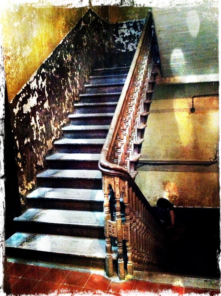 Stairs. Heritage building, Mumbai, India