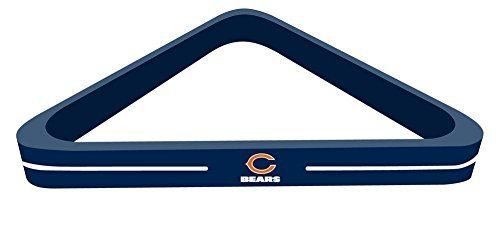 Imperial Officially Licensed NFL Merchandise: Wood Triangle Billiard/Pool Ball Rack