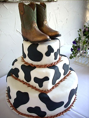 Love Cow Print cakes! Possible birthday cake for Kali and I :)
