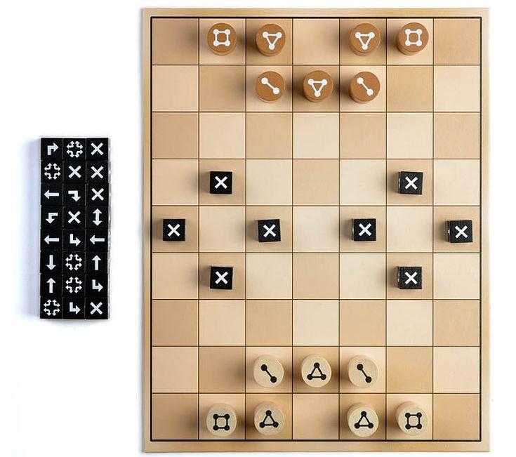 Barragoon, ein reinrassiges Strategie- und Taktikspiel ala Schach für Zwei. Fortwährender Spielspaß dank unzähliger Möglichkeiten des Taktierens.