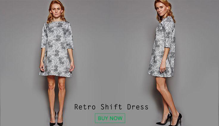Retro Shift Dress