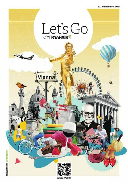 Check out everything the bustling city of Vienna has to offer in the September issue of Ryanair's Let's Go Magazine.