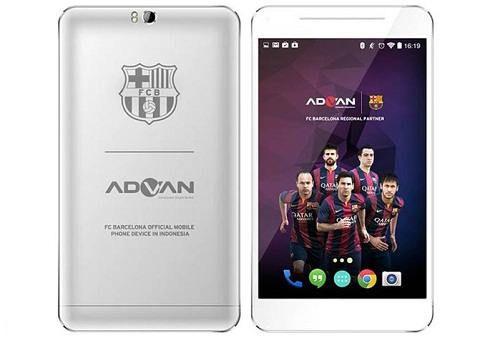 Spesifikasi Tablet Advan Barca Tab 7