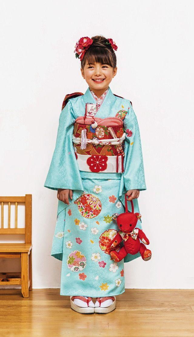 お祝着はプリキュアが人気。14年伊勢丹の七五三ファッション 22枚目