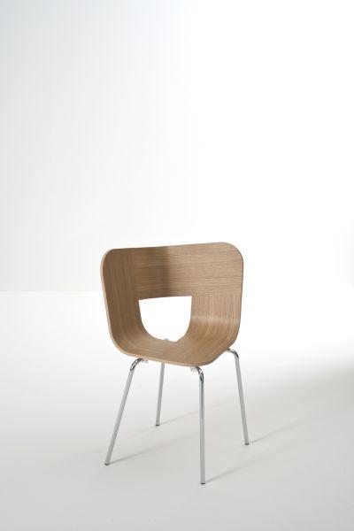 Sedia Tria metal- design Lorenz e Kaz- Colé