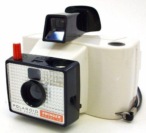 Model Land Movie: The Swinger Model 20 Vintage Polaroid Roll Film Land
