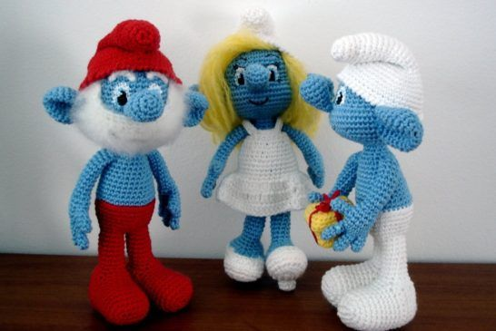 Smurf Crochet Free Pattern