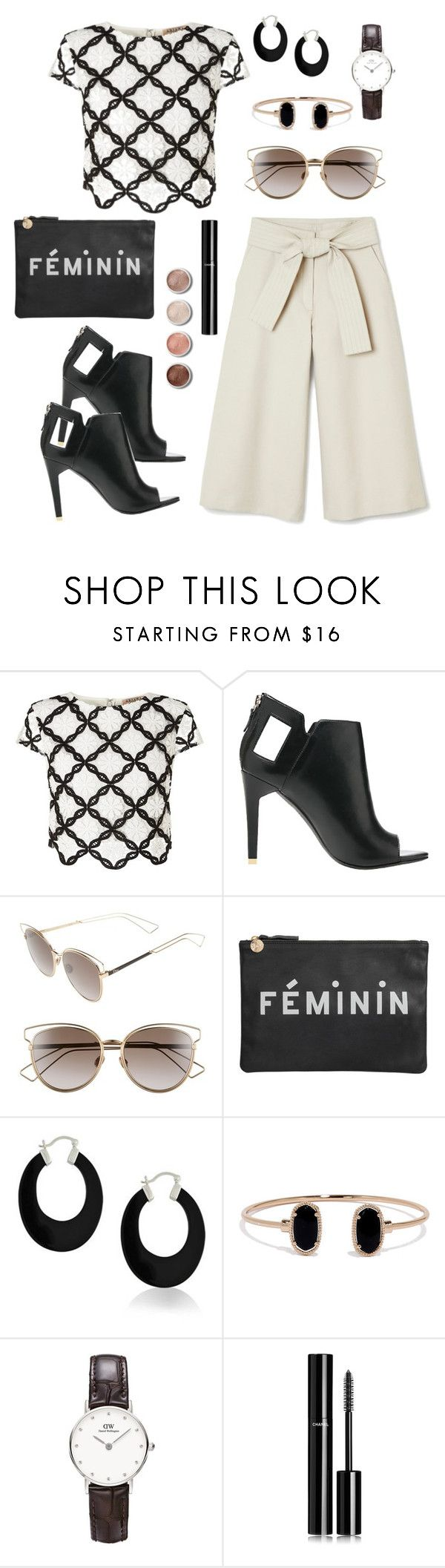 """Féminin"" by athinamargot on Polyvore featuring Lipsy, Alepel, Christian Dior, Clare V., Bling Jewelry, Lulu*s, Terre Mère and Chanel"