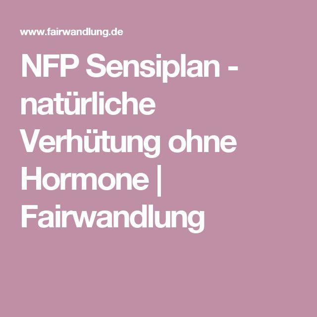 NFP Sensiplan - natürliche Verhütung ohne Hormone | Fairwandlung