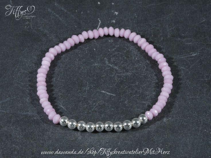 Armbänder - Armband * Perlen 925 Sterling Silber * Rosa Traum - ein Designerstück von TiffysKreativatelier bei DaWanda