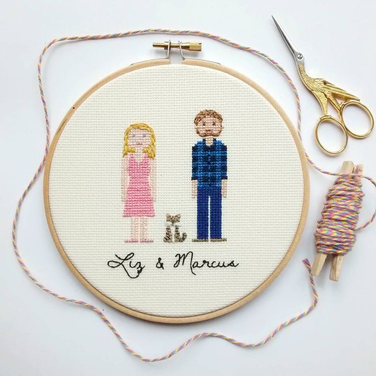 Another family portrait that has found its new home in Australia!  Wedding season is beginning and this is the perfect gift!  Be sure to order on time because this mama has only two hands!!!