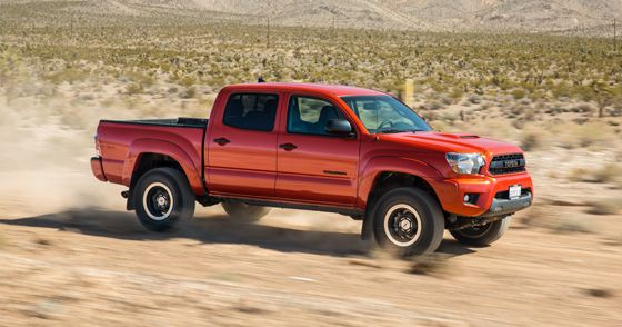 REVIEW: 2015 Toyota Tacoma TRD Pro: First Drive