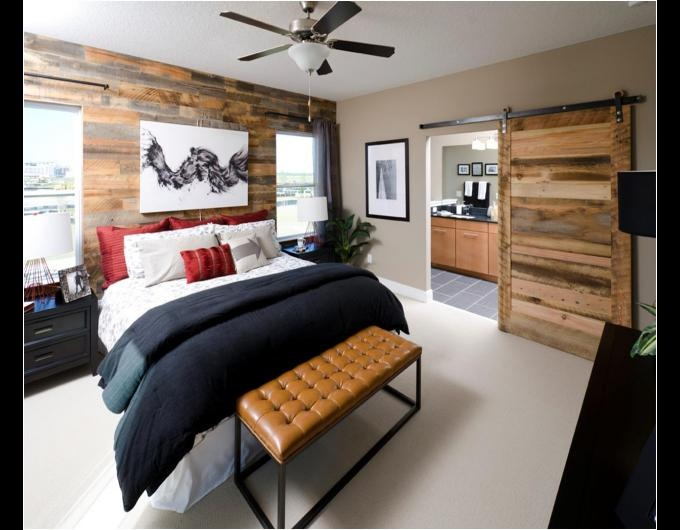 Sliding Door On Track. This Style Is Perfect For Our Bedroom/office Space.  Reclaimed LumberReclaimed Wood ...