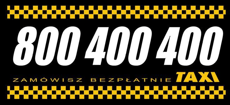Taxi 800-400-400 jest jedną z największych firm taksówkowych działających na terenie Polski.
