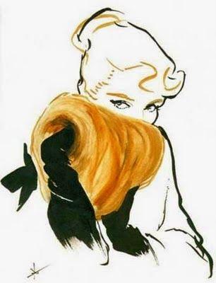 NELLY: Рене Грюо - величайший иллюстратор моды